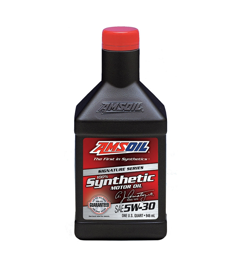 amsoil signature series 5w 30 synthetic engine oil