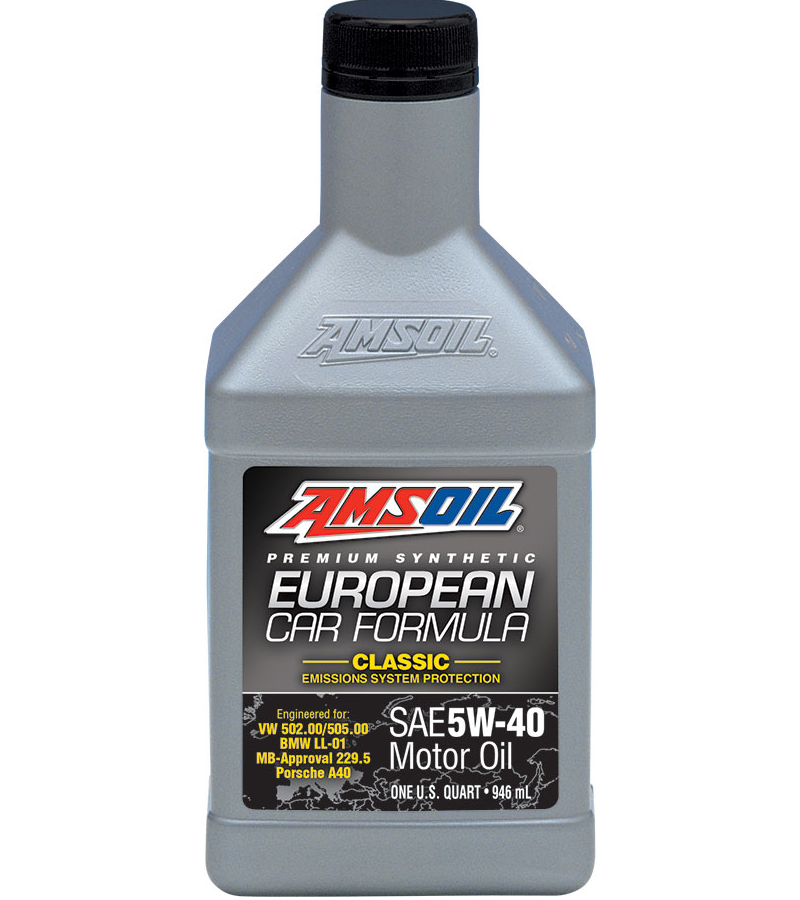 Amsoil synthetic 5w 40 c esp classic euro engine oil for 5 w 40 motor oil