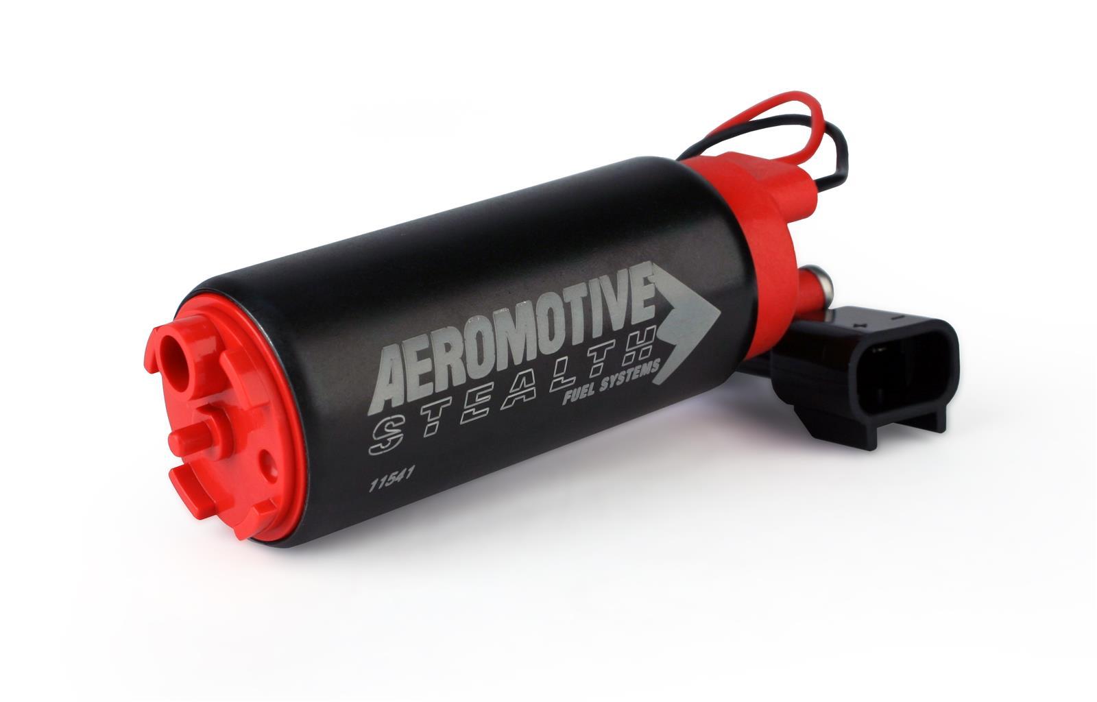 Aeromotive 11541 Stealth 340lph Electric Fuel Pump Corner3 Motorsports Filter